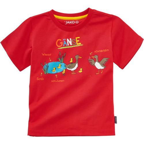 T-Shirt Lerneffekt, rot, Gr. 92/98