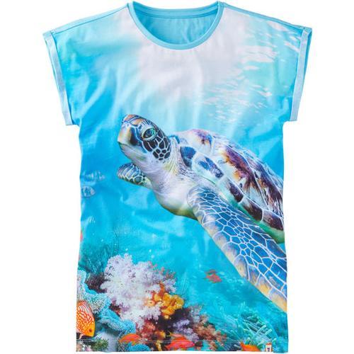 T-Shirt Fotoprint, blau, Gr. 176/182