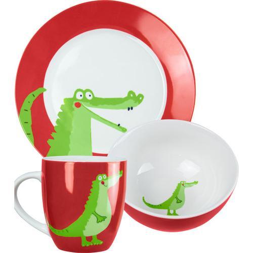 JAKO-O Porzellan-Geschirr-Set, grün