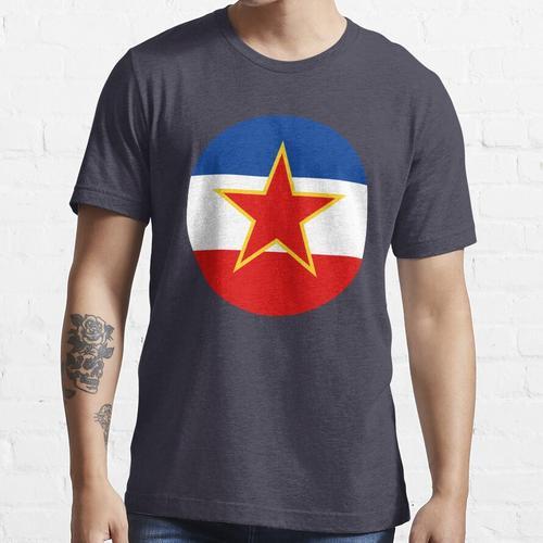 Ex Jugoslawien - Jugoslawien Flagge Essential T-Shirt