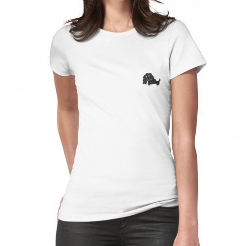 Teddy der Langhaardackel Frauen T-Shirt