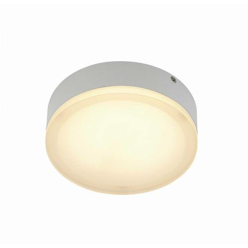 Leonta LED-Deckenlampe, weiß, Ø 20 cm - Lindby