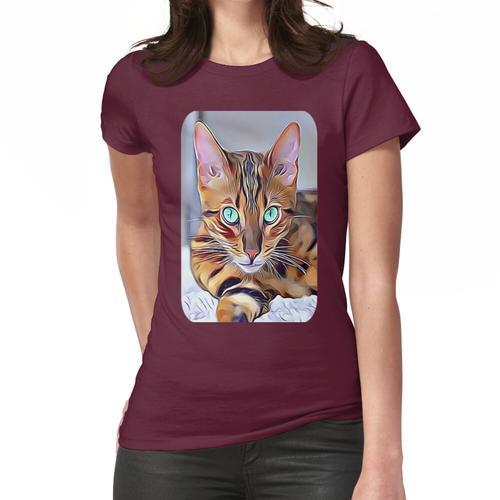 Die Bengalkatze Frauen T-Shirt