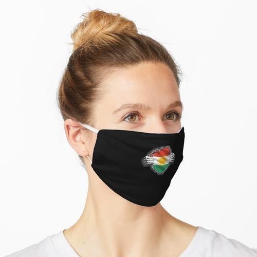 Kurdistan Kurd Flag Flag Kurdisches Geschenk Maske