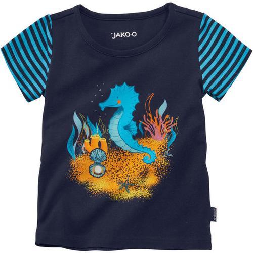 T-Shirt Meerestiere, blau, Gr. 92/98
