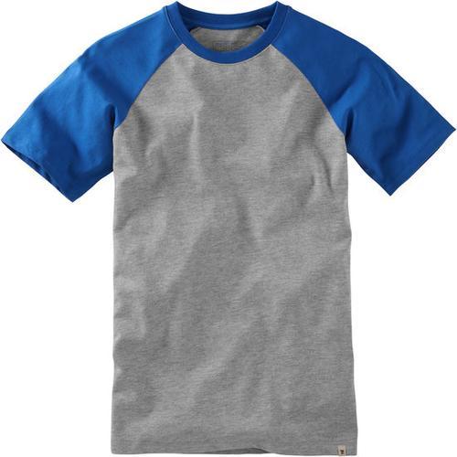 T-Shirt Raglan, blau, Gr. 176/182