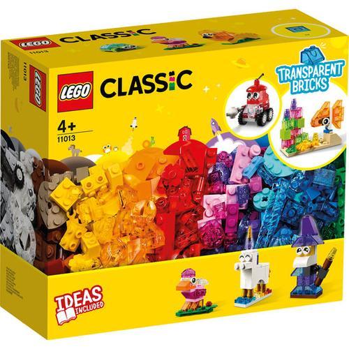 LEGO®Classic 11013 Kreativ-Bauset mit durchsichtigen Steinen, bunt