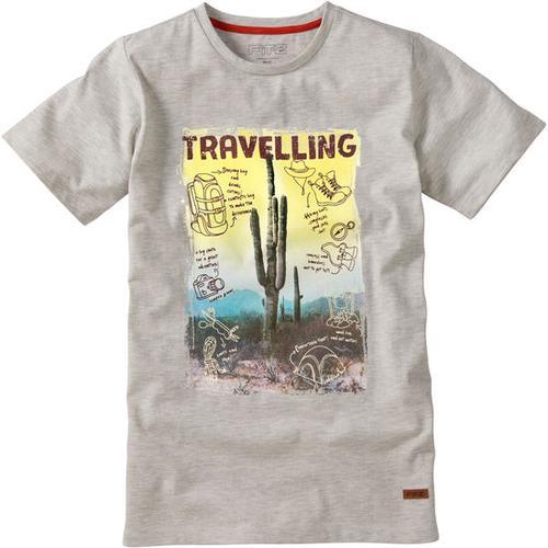 T-Shirt Travel, weiß, Gr. 164/170
