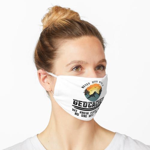Geocacher Geocaching Maske