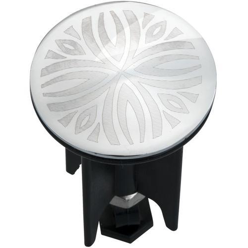 Waschbeckenstöpsel Pluggy® Latur Stöpsel Waschbecken Abfluss Ø3,9 x 6,5cm - Wenko