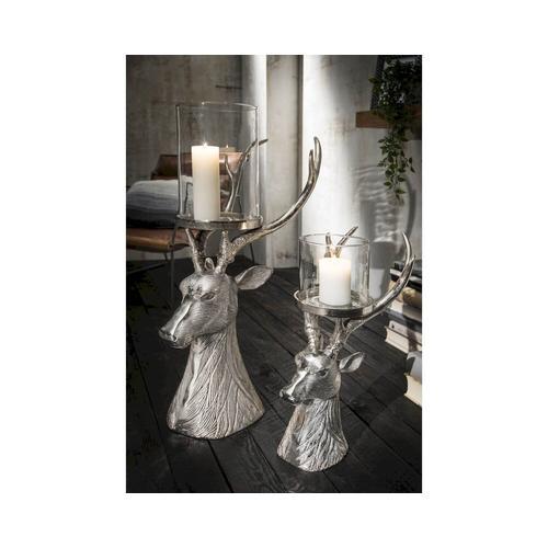 die Faktorei »Hirsch« Deko-Kerzenständer gross