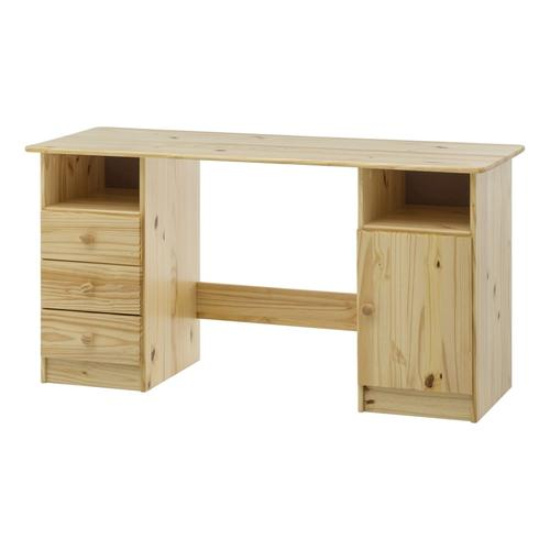 Möbilia »Filonas« Schreibtisch aus massivem Kiefernholz