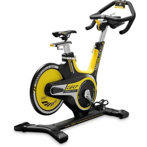HORIZON FITNESS Fitnessbike GR7, Größe - in Schwarz/Gelb