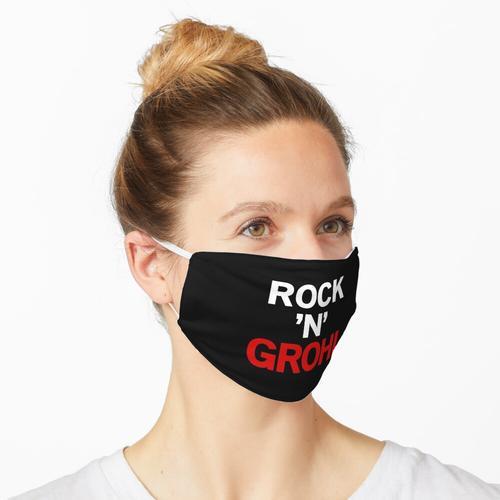 Rock N Grohl, Dave Grohl, getragen von Dave Grohl Maske