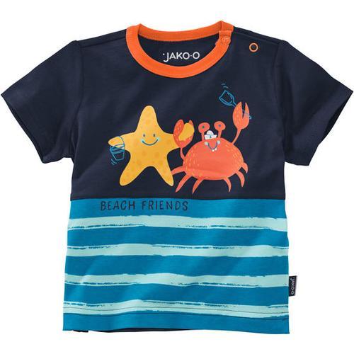 T-Shirt Unterwasserwelt, blau, Gr. 56/62