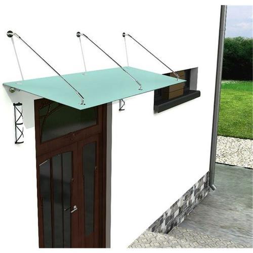 Glaszentrum Hagen - 250x90cm Glasvordach - (Typ/3Stb-FR) - Milchglas - Vordach VSG Türvordach