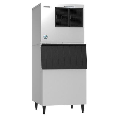 Hoshizaki KML-325MAJ/B-500SF 380 lb. Crescent Cube Ice Maker with Bin - 500 lb. Storage, Air Cooled, 115v