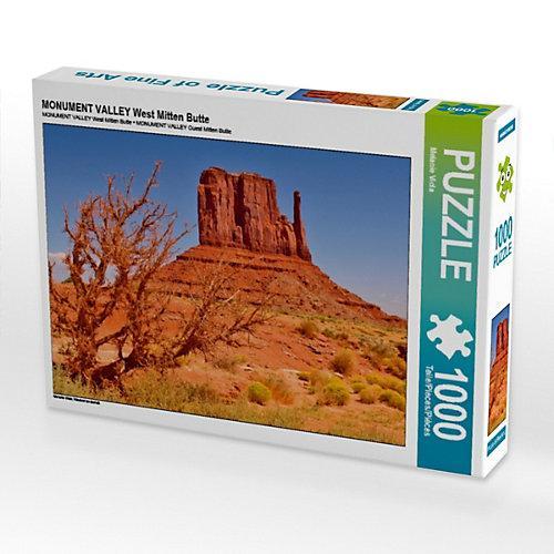 MONUMENT VALLEY West Mitten Butte Foto-Puzzle Bild von Melanie Viola Puzzle