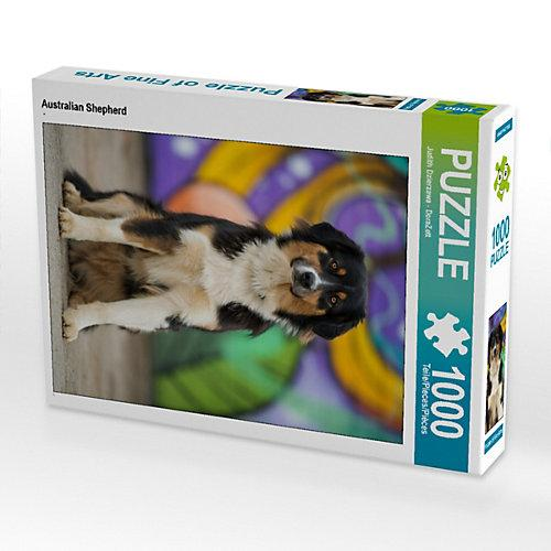 Australian Shepherd Foto-Puzzle Bild von DoraZett Puzzle