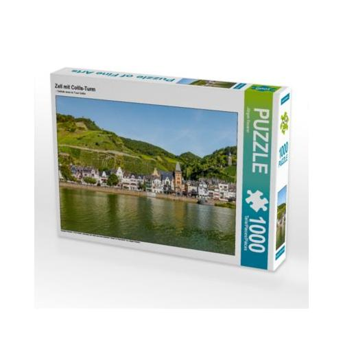 Zell mit Collis-Turm Foto-Puzzle Bild von JF-Fotografie Puzzle