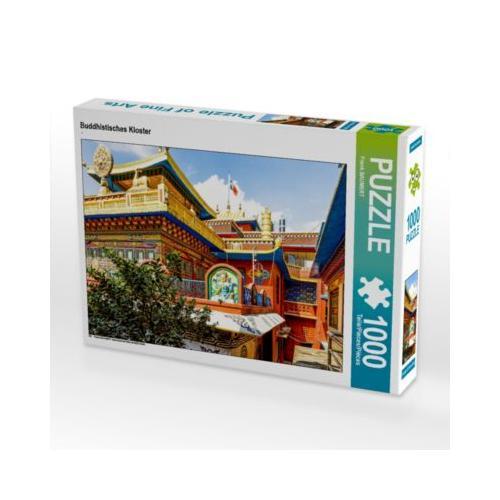Buddhistisches Kloster Foto-Puzzle Bild von FB Frank BAUMERT Puzzle