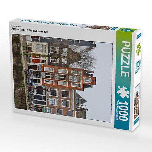 Amsterdam - Alles nur Fassade Foto-Puzzle Bild von Peter Härlein Puzzle