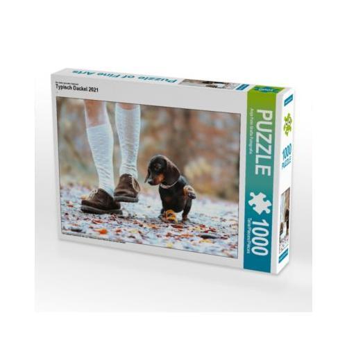 Typisch Dackel 2021 Foto-Puzzle Bild von Anja Foto Grafia Fotografie Puzzle
