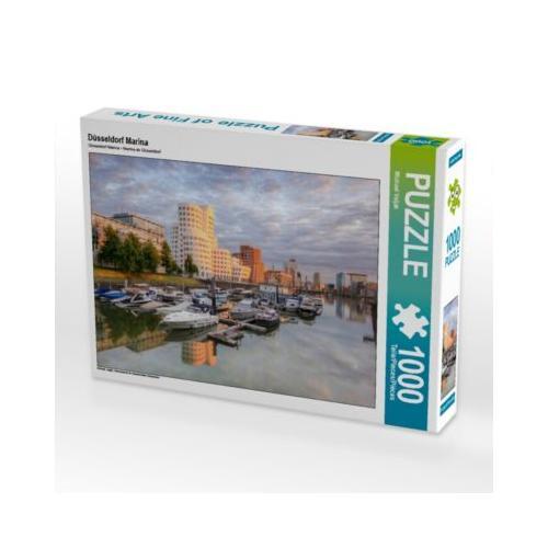 Düsseldorf Marina Foto-Puzzle Bild von Michael Valjak Puzzle