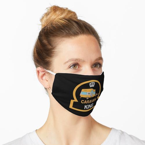 Lustige Caravaning- Caravaning Liebe - Neuheit Caravan Geschenke - Caravan King Maske