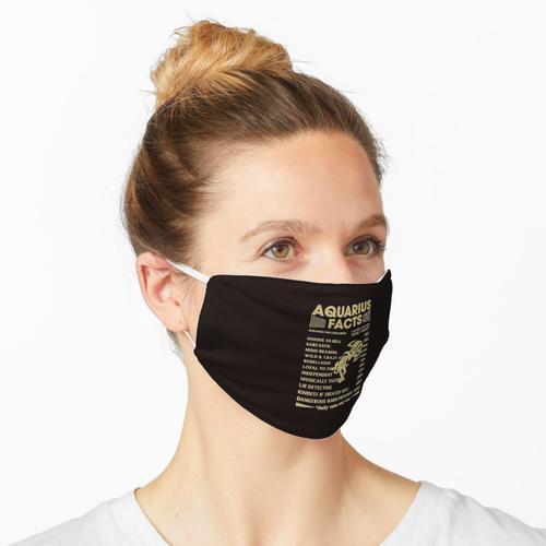 Wassermann - Wassermann Fakten Maske