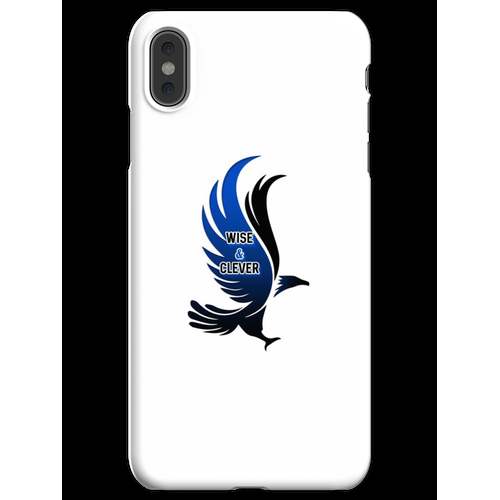 Wise & Clever Blue Eagle HARRYPOTTER iPhone XS Max Handyhülle