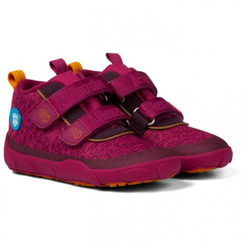 Affenzahn - Kid's Knit Vogel - Sneaker 21;22;23;24;25;27;28;29;30;31;32 | EU 21;22;23;24;25;27;28;29;30;31;32 lila/rot