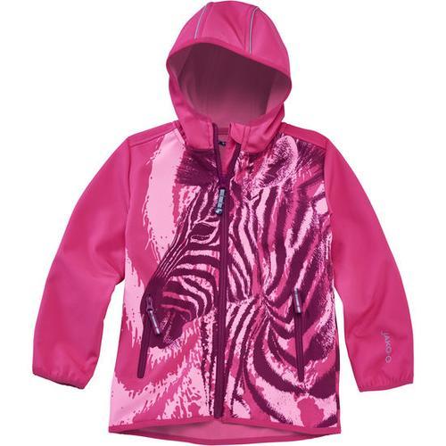 Softshell-Jacke Zebra, pink, Gr. 140/146