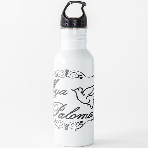 Mya Paloma Etiketten Wasserflasche