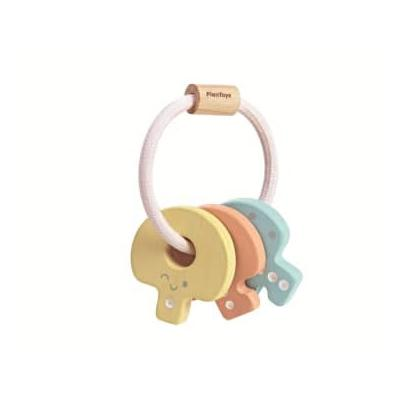 Plan Toys - Wooden Baby Key Rattle