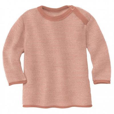 disana - Kid's Melange-Pullover - Merinopullover Gr 50/56 beige