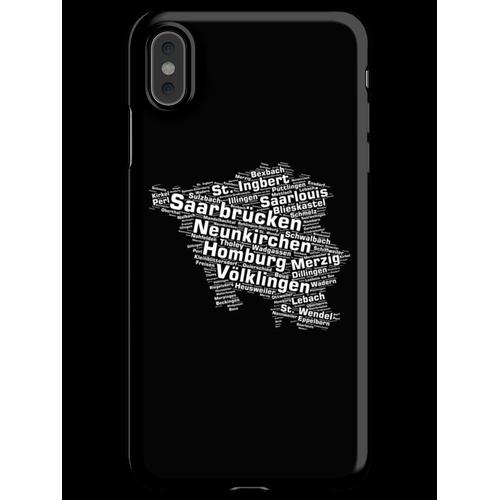 Saarland Bundesland: Saarländische Städte iPhone XS Max Handyhülle