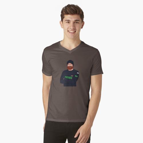 Wes Bergmann t-shirt:vneck