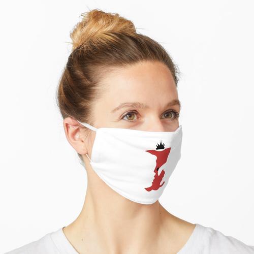 Vergifteter Apfel Maske