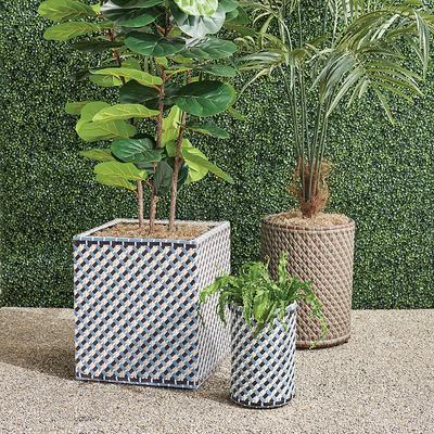 Harper Outdoor Planter - Pebble,...