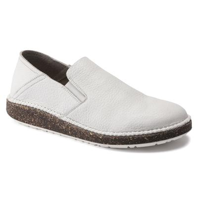 BIRKENSTOCK Callan Natural Leather White Low Shoes