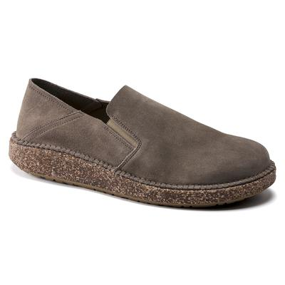 BIRKENSTOCK Callan Suede Leather Gray Taupe Low Shoes