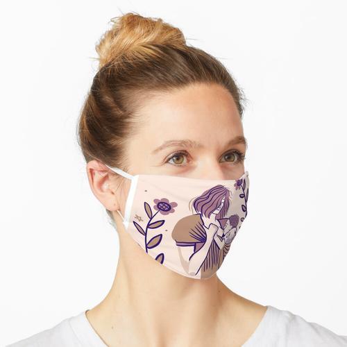 Babytragen und Stillen Maske