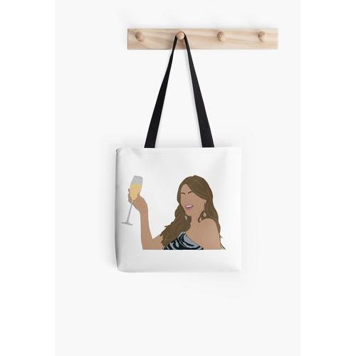 Gloria mit einem Getränk Tasche