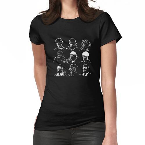 TF2 Mercenaries Women's Fitted T-Shirt