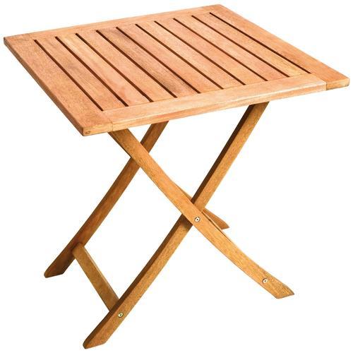 MERXX Gartentisch, 70x70 cm beige Gartentisch Gartentische Gartenmöbel Gartendeko