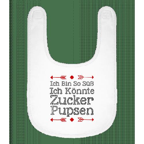 Zucker Pupsen - Baby Lätzchen