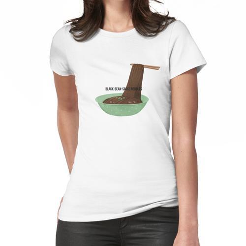Nudeln mit schwarzer Bohnensauce 짜장면 Frauen T-Shirt