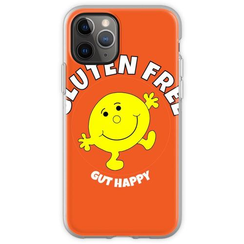 Glutenfreies Gut Happy T-Shirt - Glutenfreies Gut Happy T-Shirt - G Flexible Hülle für iPhone 11 Pro