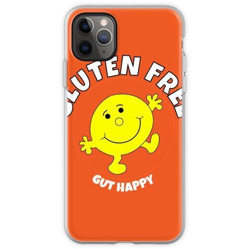 Glutenfreies Gut Happy T-Shirt - Glutenfreies Gut Happy T-Shirt Flexible Hülle für iPhone 11 Pro Max
